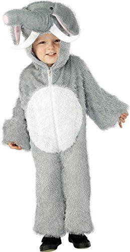 Imagen de smiffy's  disfraz de elefante para niño, talla s 4  6 años 115/128 cm