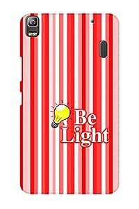 AMAN Be Light 3D Back Cover for Lenovo K3 Note