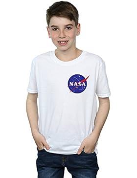 Nasa Niños Classic Insignia Pocket Logo Camiseta