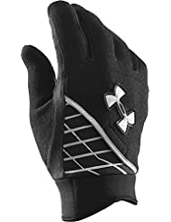 Under Armour - Guantes de running para mujer, tamaño W, color negro