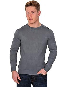 Zanone Suéter Hombre Gris normal algodón casual 50