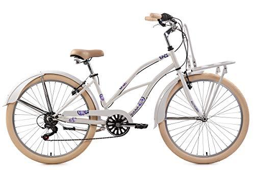 KS Cycling Beachcruiser 26'' Kahuna weiß RH41cm