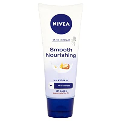 nivea smooth nourishing macadamia nut oil hand cream 100ML