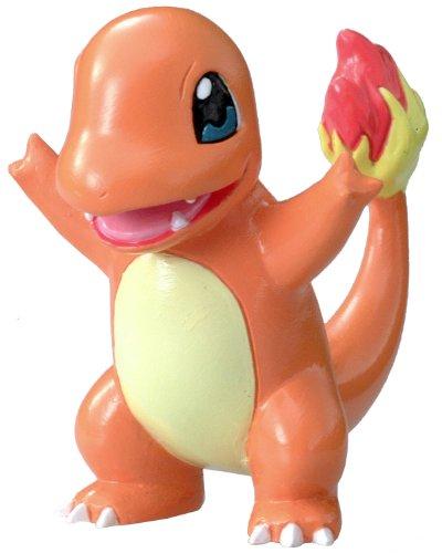 Pokemon: Best Wishes! (Schwarz + Weiß) Monster Collection Figur: Glumanda / Charmander