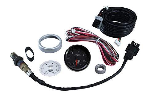 AEM 52mm,Bosch,42lsu,4.2,LSU, Calibration,afr,Lambda,17018,Oxygen,5-wire,0258007018, Ratio,E85,Wideband Air,Fuel,Gauge,Face,O2,UEGO,Analog,Black,Sensor,Accuracy,Output,0-5v,Loggers,30-5143
