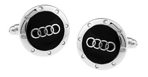 mens-bodega-audi-logo-cufflinks-silver-and-black-circle