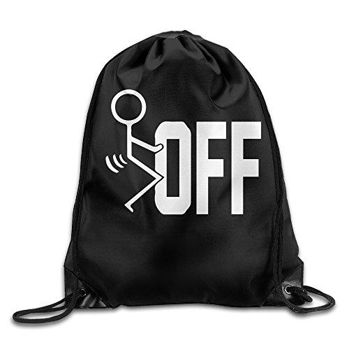 canace-fuck-off-deportes-al-aire-libre-cordon-bolsas-mochila-blanco-talla-unica