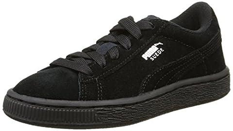 Puma 355110 Z, Baskets mode garçon - Noir (Black/Silver), 32 EU (13 UK)