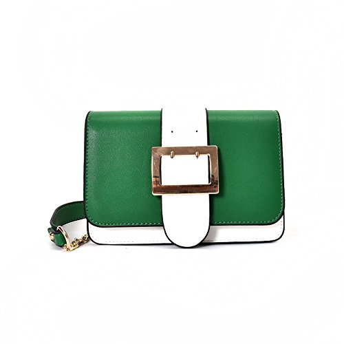 Meoaeo 2017 Tutti I-Match Bangalor Xiekua Pacchetto Colore Femmina Fashion Bag Gules green