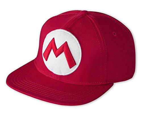 Nintendo Snap Back Cap mit Super Mario Logo
