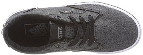 Vans WINSTON Unisex-Kinder Sneakers Schwarz (Textile) black DYO)