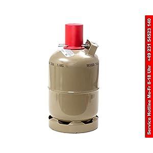 Gasflasche Stahl 5 kg
