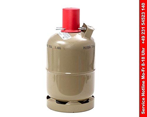 Stahl Gasflasche, 5 kg