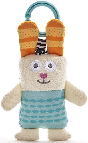 Image of Taf Toys Ronnie The Rabbit Jittering Baby Toy