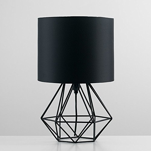 modern-black-metal-basket-cage-style-table-lamp-with-a-black-fabric-shade