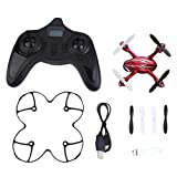 Bangcool X4 H107C 2.4G 4CH RC Quadcopter Camera Helicopter Silver Red Drone Toy with Camera Gyro