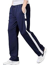 a9c0423e35228 Lachi Pantalones Chandals Hombre Pantalón Deportivo Largos Algodón
