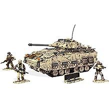 Mega Bloks - Set de juego, ataque de tanque del desierto (Mattel DPB59)