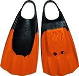 Wave Gripper Palme de plongée Mixte Adulte, Orange/Noir, Taille M-L