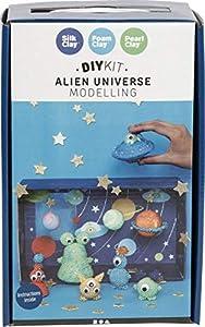 Creativ Company 97064 Alien-Welt - Juego de Manualidades (Modelado con F, Multicolor)