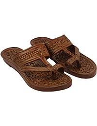 LDHSATI Flip-Flops Comfortable House Walk Grass, Slippers For Men's Chappal For Man (Men) Flip Flops Home Use,... - B07H3ZGTGD