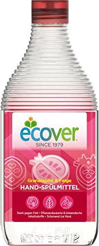 Ecover Hand-Spülmittel Granatapfel und Feige, 8 Stück Ecover Geschirrspülmittel