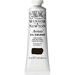 Winsor & Newton Artists - Tubo de pintura al óleo (37 ml), negro