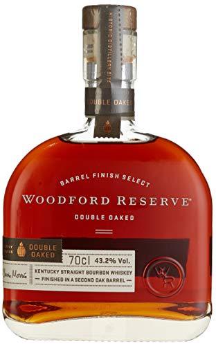 Woodford Reserve Double Oaked – Kentucky Straight Bourbon Whiskey – 43,2% Vol. (1 x 0.7 l) – Bester Bourbon, Doppelt Gereift