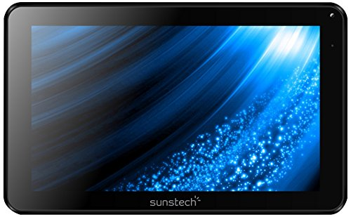 "Sunstech TAB93QCBT - Tablet de 9"" (WiFi, Allwinner A33 Quad Core 1.3 GHz, 512 MB de RAM, 8 GB de Memoria Interna, Android 4.4.2 Kit Kat) Color Negro"