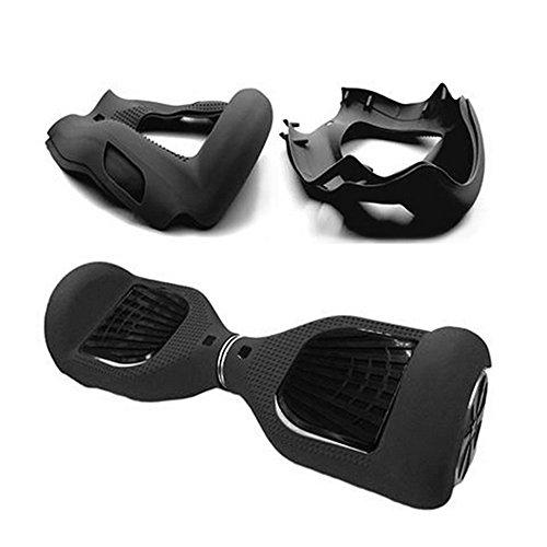 Housse Siliconée Coque de Protection Hoverboard Scooter Auto 6,5 pouces 2 Roues Cadeau Noël Anniversaire Fête