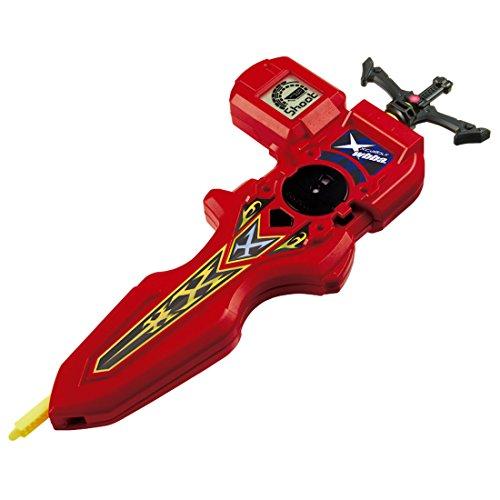 Unbekannt Takara Tomy Beyblade Brust Accessory B-94 Digital Sword Launcher Red Active Toy (Launcher Takara Tomy Von Beyblade)