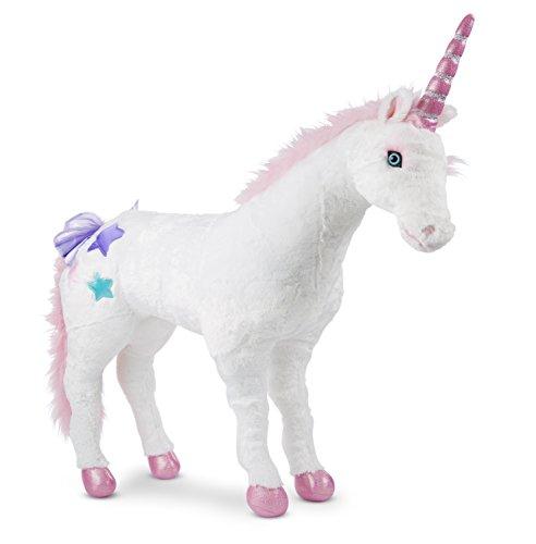 Melissa & Doug Plush Unicorn Toy (3 Years And Above) - Multi Color