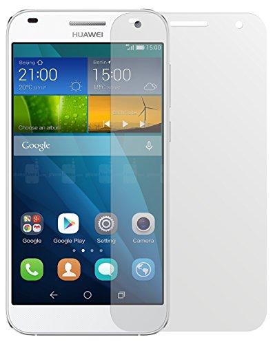 dipos I 2X Schutzfolie matt passend für Huawei Ascend G7 Folie Bildschirmschutzfolie