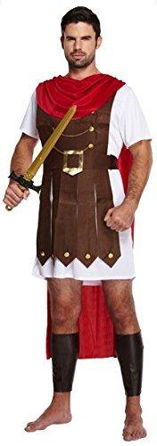 Hombre Adulto Romano General Gladiador Espartano Luchador Disfraz U36403