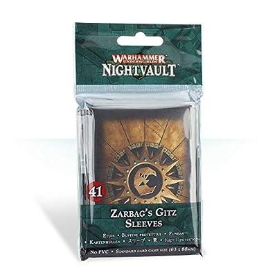 Warhammer Underworlds Nightvault Zarbag's Gitz Sleeves