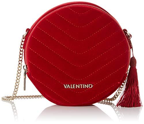 Valentino by Mario Carillon, Sacs bandoulière femme, Rouge (Rosso), 5.5x18x18 cm (B x H T)