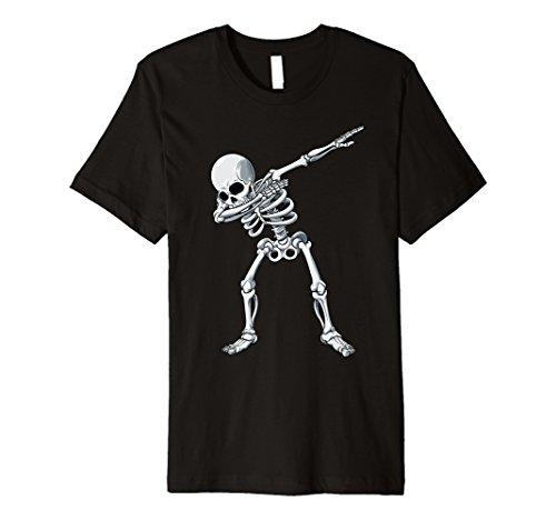 Dabbing Skelett T Shirt Halloween Lustig Kinder Jungen
