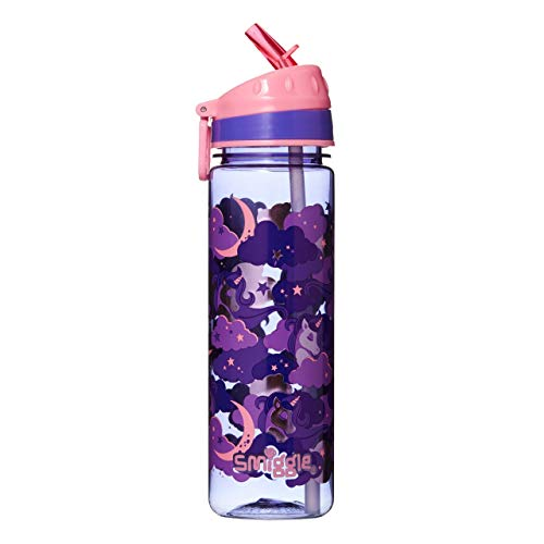 Smiggle Seek, botella agua rellenable niñas niños