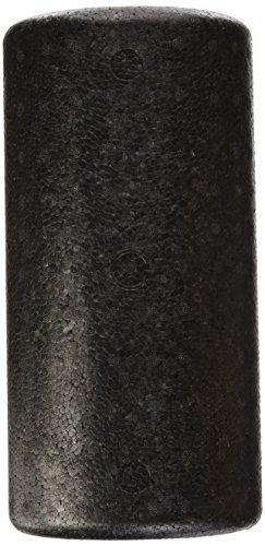 Preisvergleich Produktbild Formstabile halbrunde Faszienrolle,  Massagerolle - Pilates,  Physio,  Yoga,  Triggerpunkt,  31 x 15 x 10 cm,  schwarz