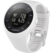MISSWongg_Correa de reloj - Silicona - el Reloj Polar M200 - MWBD002 (Blanco, 20MM
