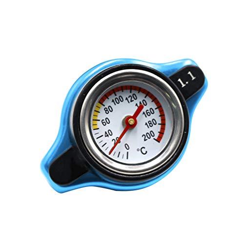 ZREAL AUTO 16 PSI Termostato coperchio del radiatore in acciaio pressione valutazione della temperatura