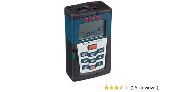 Bosch laserentfernungsmesser dle professional mit