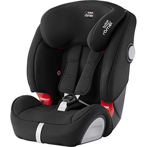 Britax Römer Evolva 123 SL SICT, Autositz Gruppe 1/2/3 (9 - 36 kg), Kollektion 2019, cosmos black (Baby-auto-sitze Für Billig)