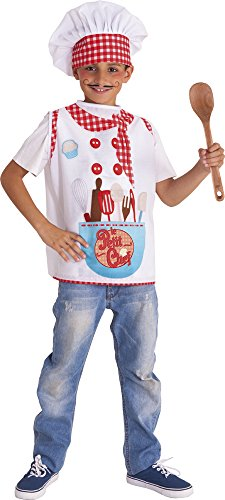Rubies-S8400-M Le Petit Chef - Disfraz impreso niños