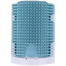 Vlook Gato picazón Dispositivo Gato Pelo Peine Masaje Cepillo Multifuncional cómodo fácil de Instalar y Limpiar