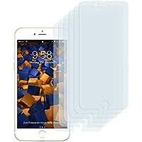 6 x mumbi Displayschutzfolie für iPhone 8 / iPhone 7 Folie Schutzfolie (bewusst kleiner als das Display, da dieses gewölbt ist)