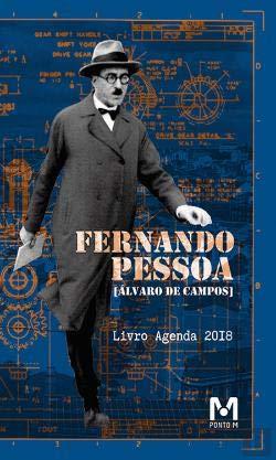 Livro Agenda Fernando Pessoa (Álvaro de Campos) 2018