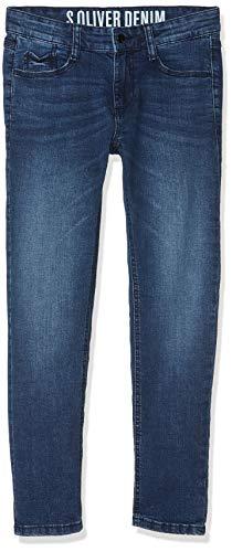 s.Oliver Junior Jungen Jeans 62.811.71.3264, Blau (Blue Denim Stretch 56z7), 158 (Herstellergröße:158/REG)