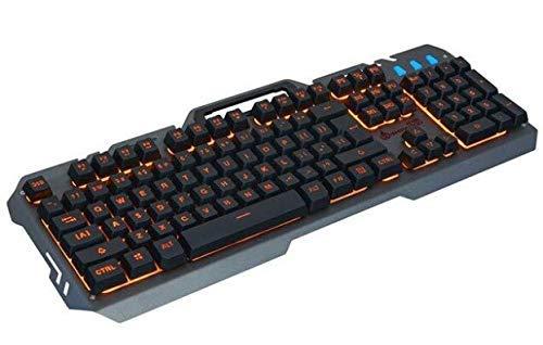 Kompatibel mit Limeide Metal Storm T21 mit USB-Kabel, Bürobeleuchtung, Tastatur und Gaming-Maus