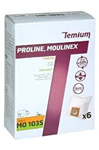 Temium 599392031–Sac pour aspirateur mo103s 6)